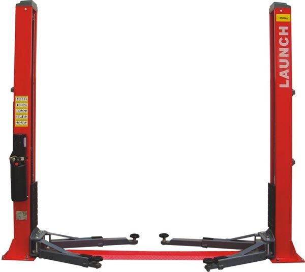 TLT240SBA Luxurious Floor Plate Two Post Lift