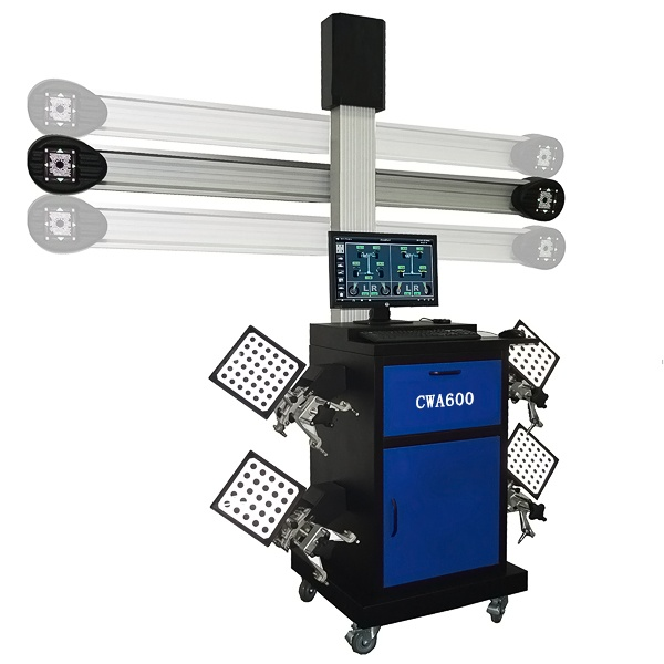 Four Wheel Alignment CWA600 with automatical lifting pillar