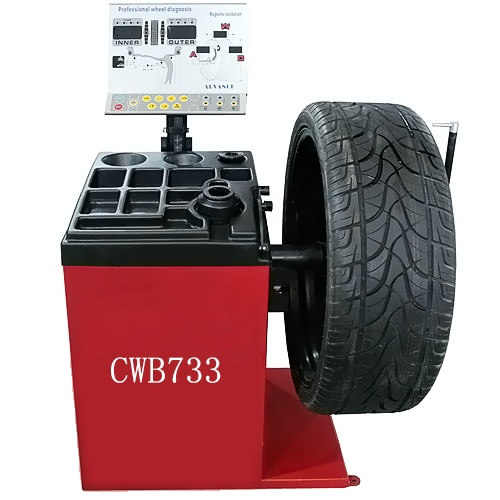 Magnetic Balancing Tires machine CWB733
