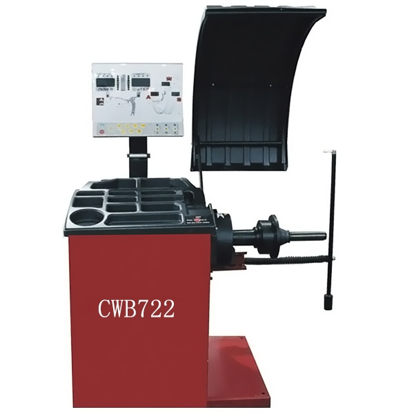 CWB722 with 512 Angular Positions Mobile Wheel Balancer