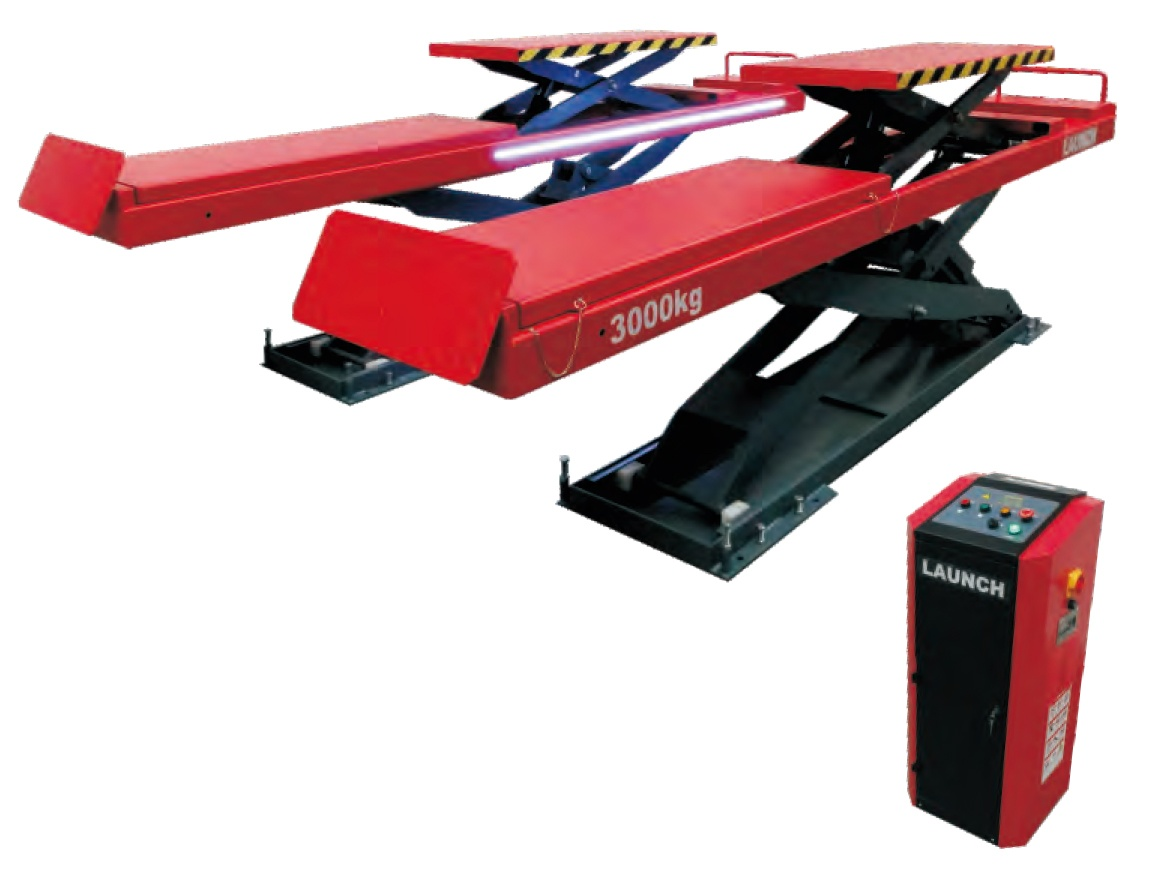 TLT830WA Big scissor lift with secondary lift