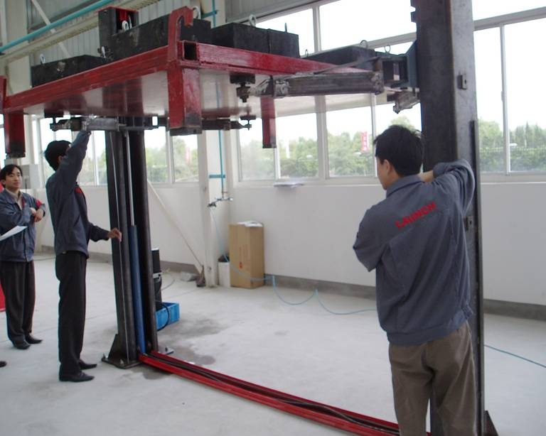 Car Lift Production process