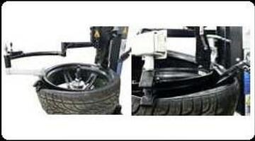 for demounting tire