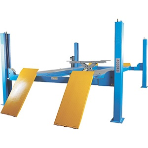 JLY-4-440D Four post car lift for wheel alignment