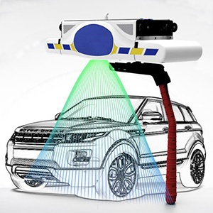 CW-M9 fully automatic car washing system touchless car washing machine