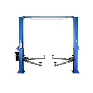 JLY-C250L CE gamtry type two post car lift for cars manual operation car lifting machine